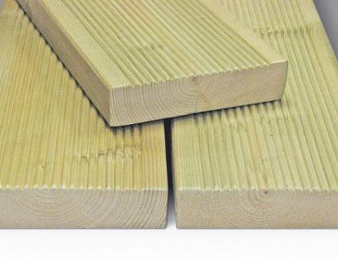 decking profile softwood