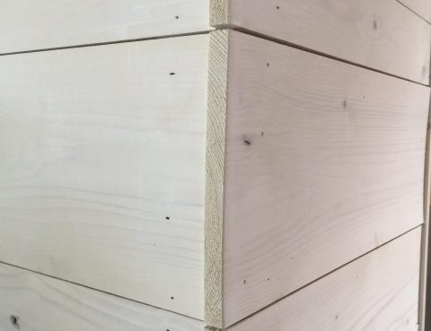 Cladding Square Edge Profile pattern