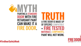 some fire door myths,truths and corrections